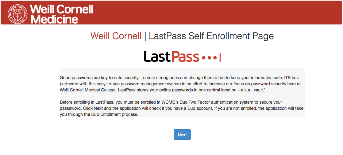 How to use LastPass | Information Technologies & Services