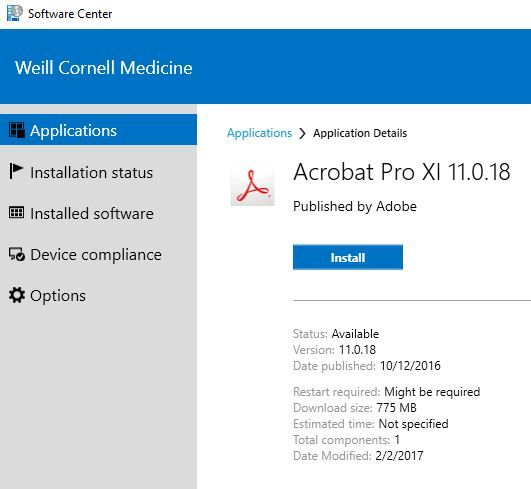 How to download software with Windows Software Center