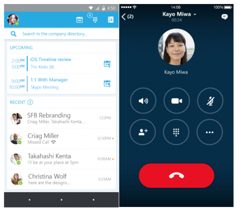 Make free Skype calls on your mobile app whenever you are connected to Wi-Fi.