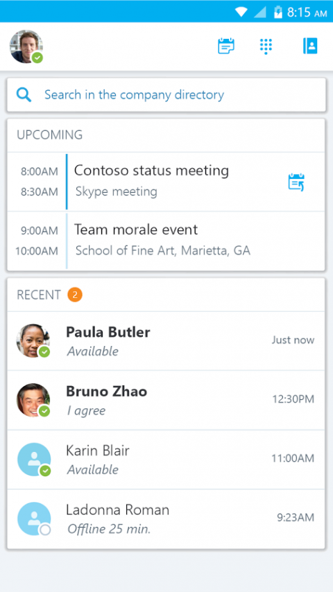 Instant Messaging (Skype for Business) | Information